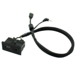USB a AUX konektor VW GOLF 7 USB CAB 895