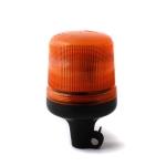 Oranžový maják s úchytom na tyč, 15LED, B18-DP-A