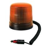Oranžový maják s úchytom na magnet, 15LED ...