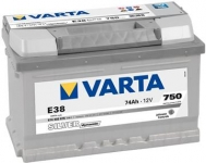 VARTA SILVER 74Ah 750A L-, 574402075