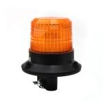 Xenonový maják, úchyt na tyč, 12-80V, oranžový ...