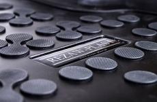 Gumové koberce se zvýšeným okrajem VW CC