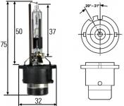 Žárovka xenonová D2R