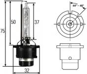 Žárovka xenonová D2S