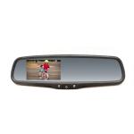 Spätné zrkadlo s LCD displejom so stmievaním, ...