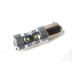 LED žiarovka BA15s, 10led, 800lm, 7W, biela, ...