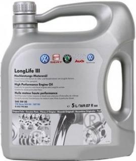 Originál VW olej 5W-30 LongLife III 1L - G052195M4