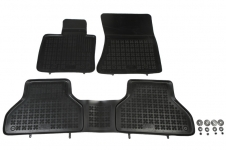 Gumové rohože se zvýšeným okrajem BMW X5 E70 / X6 E71 / E72
