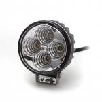 Pracovné svetlo okrúhle, 4x 3W LED Epistar, ...