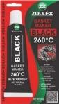 Zollex Silikon 85g čierny 260°C