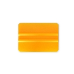 Tvrdá PVC 10cm stierka, oblé hrany, žltá KF 634