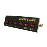 Ovládací panel k LED rampám a  smerovým alejám, ...