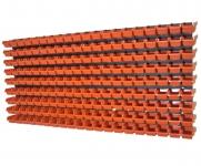 Nástenný organizér varianta č.19 oranžový
