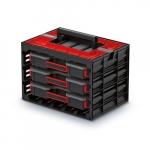 KISTENBERG skříňka s 3 organizéry