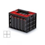 KISTENBERG skříňka s 5 organizérů (krabičky