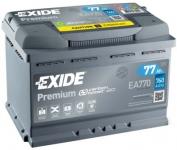 Štartovací batérie EXIDE 77 Ah