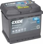 Startovací baterie EXIDE 53Ah