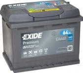 Štartovací batérie EXIDE 64Ah ...