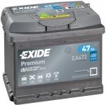 Startovací baterie EXIDE 47Ah