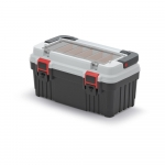 Kufřík na nářadí Optima 470x256x238 mm šedý