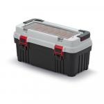 Kufřík na nářadí Optima 540x278x269 mm šedý