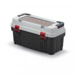 Kufřík na nářadí Optima 586x296x305 mm šedý