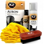 K2 AURON - čistič na kůži SADA